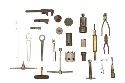 Lot 112-Assorted Hand Tools for the Maintenence of Rolls-Royce / Bentley Motorcars
