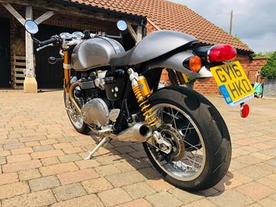 Lot 242-2016 Triumph Thruxton 1200 R