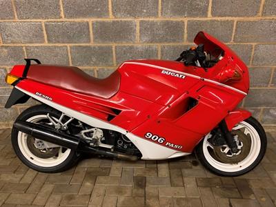Lot 252-1990 Ducati 906 Paso