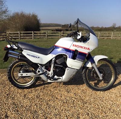 Lot 206-1988 Honda XL600V Transalp