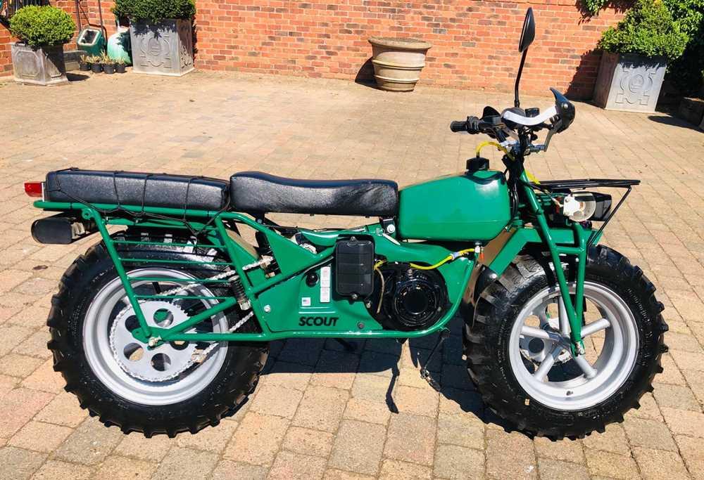 Lot 241-2007 Rokon Scout 2x2 ATV