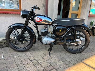 Lot 249-1961 BSA D7 Bantam Super