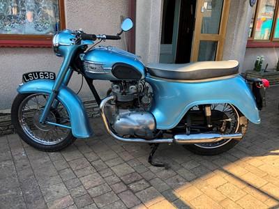 Lot 250-1959 Triumph 3TA Twenty One