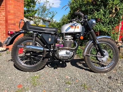 Lot 251-1969 BSA B44 Victor Special
