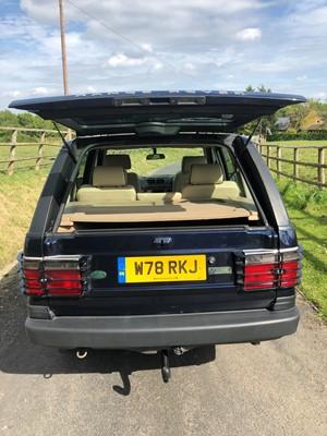 Lot 313-2000 Range Rover Vogue 4.6
