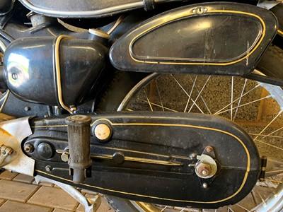 Lot -1956 NSU 125 OSB Superfox