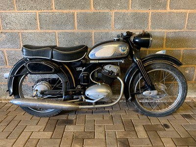 Lot 202-1956 NSU 125 OSB Superfox