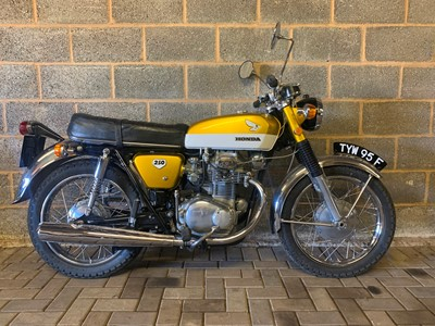 Lot 208-1968 Honda CB250 K0