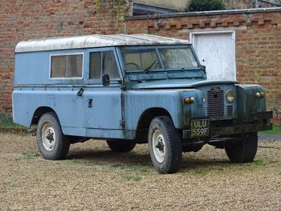 Lot -1968 Land Rover 109 Series IIA