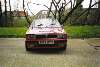 Lot -1987 Lancia Delta HF Turbo Cabriolet