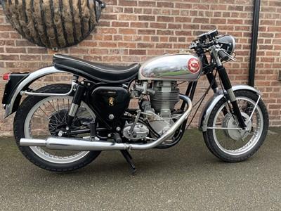 Lot 216-1956 BSA DB32 Gold Star Clubman