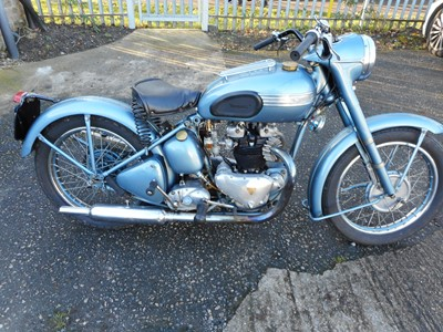 Lot 218-1952 Triumph 6T Thunderbird
