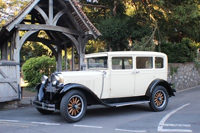 Lot -1928 Dodge Brothers Victory Six Sedan