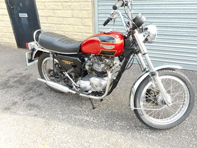 Lot 224-1979 Triumph T140 Bonneville
