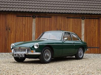 Lot -1967 MG B GT