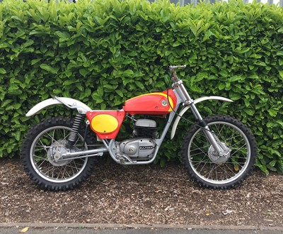 Lot 226-1970s Bultaco Pursang