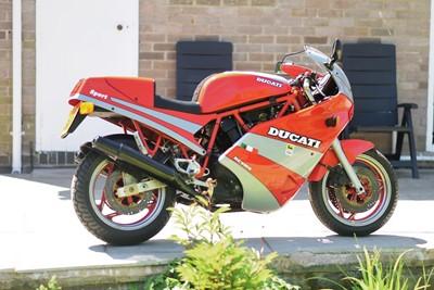 Lot 227 - 1989 Ducati 750 Sport