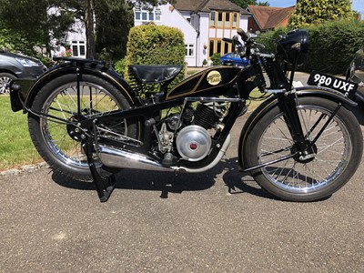 Lot 228-1936 Coventry Eagle