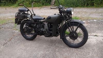 Lot 237 - 1951 Moto Guzzi Super Alce