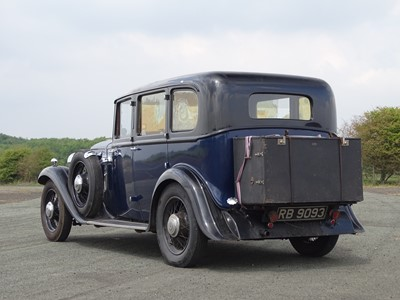Lot 359 - 1933 Humber 16/60 Saloon