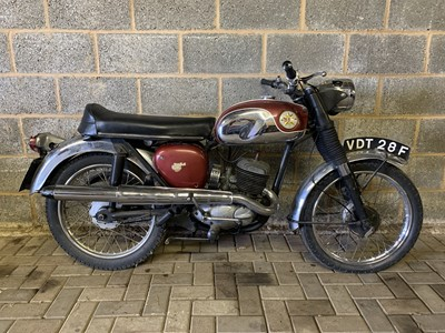 Lot 238-1968 BSA D14/4 Bantam Sport