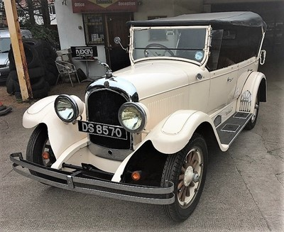 Lot 309-1926 Chrysler Series 58 Tourer