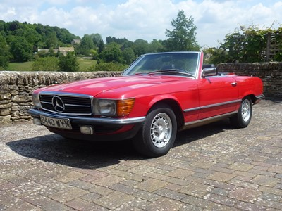 Lot 307 - 1985 Mercedes-Benz 500 SL