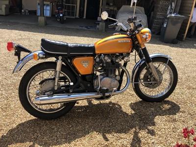 Lot 240 - 1971 Honda CB450 K3