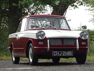 Lot 302 - 1964 Triumph Herald 1200
