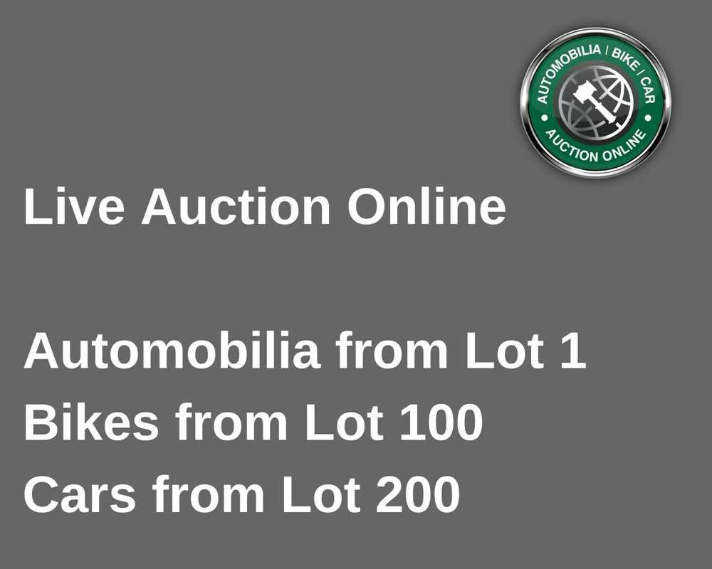 Lot 1 - 99, Automobilia