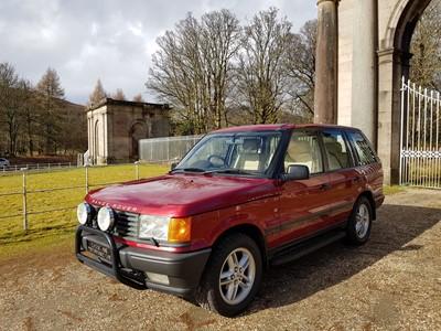 Lot 304-1997 Range Rover 4.0 SE
