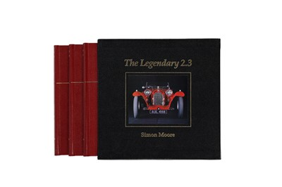 Lot 101 - The Legendary 2.3 Alfa Romeo 8C 2300 by Simon Moore