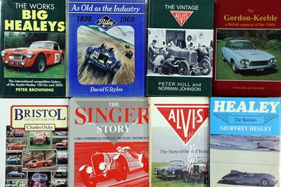 Lot 103-Eight British Marque History Titles