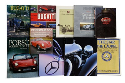 Lot 105-Ten European Marque History Titles