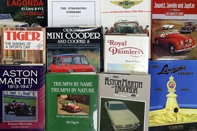 Lot 106 - Eleven British Marque History Titles