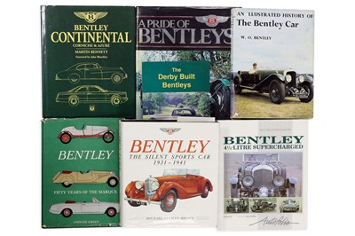 Lot 107-Seven Titles Relating to the Bentley Marque