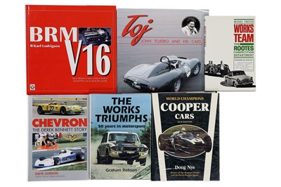Lot 109-Six Titles Relating to British Competition Cars