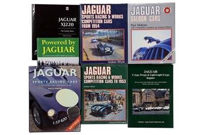 Lot 110 - Seven Titles Relating to The Jaguar Marque