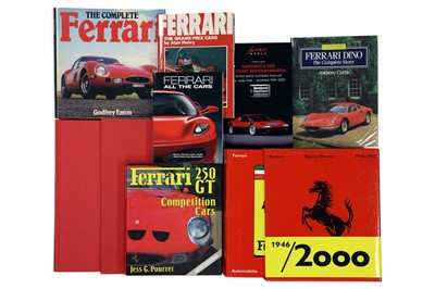 Lot 111-Eight Titles Relating to the Ferrari Marque