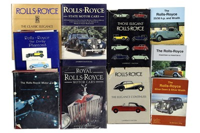 Lot 112-Ten Titles Relating to the Rolls-Royce Marque