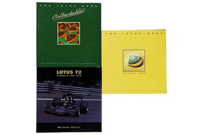 Lot 113-Three Titles Relating to the Lotus Marque