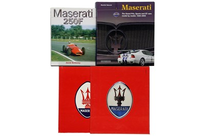 Lot 114 - Three Titles Relating to the Maserati Marque