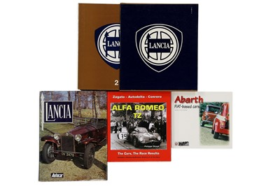 Lot 115-Four Italian Marque History Titles