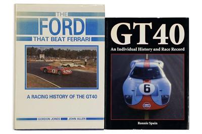 Lot 116-The Ford that Beat Ferrari by Gordon Jones and John Allen
