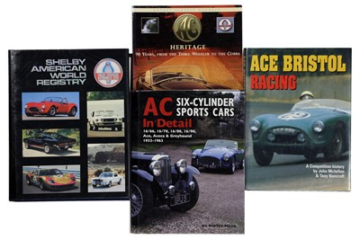 Lot 117-Four Titles Relating to the AC / Shelby Marques