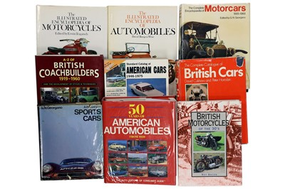 Lot 118 - Quantity of General Motoring and Motorcycling Titles
