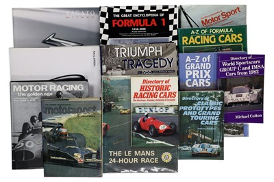 Lot 119-Quantity of Titles Relating to Motorsport