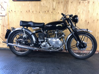 Lot 252-1951 Vincent Comet Series C