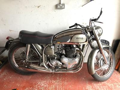 Lot 253-1954 Norton Dominator 88