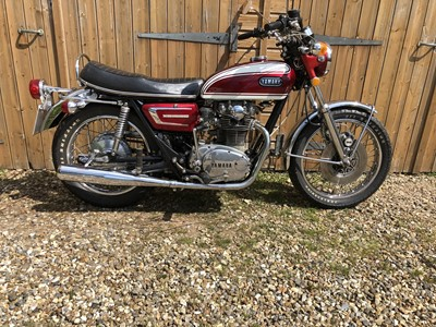 Lot 251 - 1972 Yamaha XS650